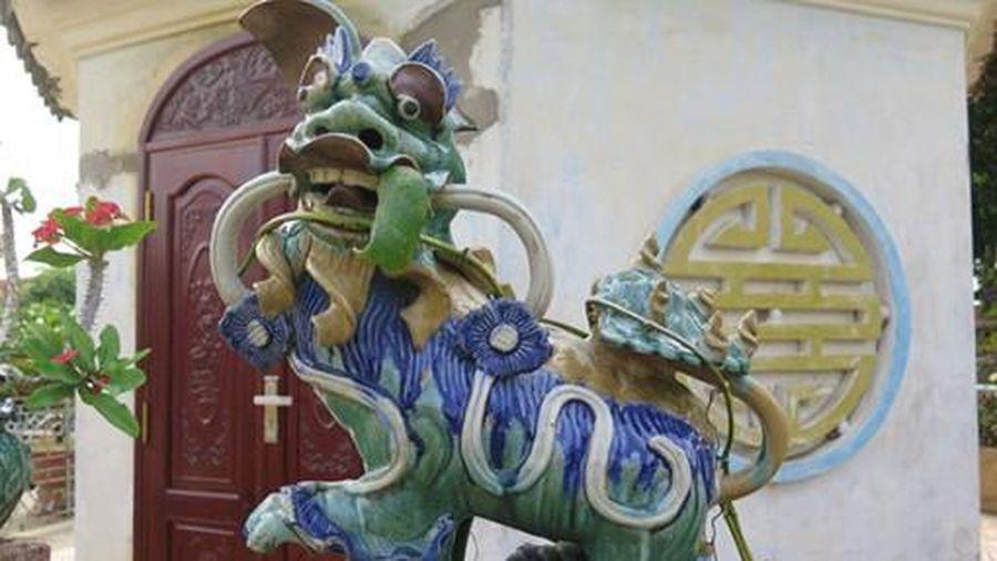 Ngôi chùa mang phong cách Bắc Bộ tại miền Tây