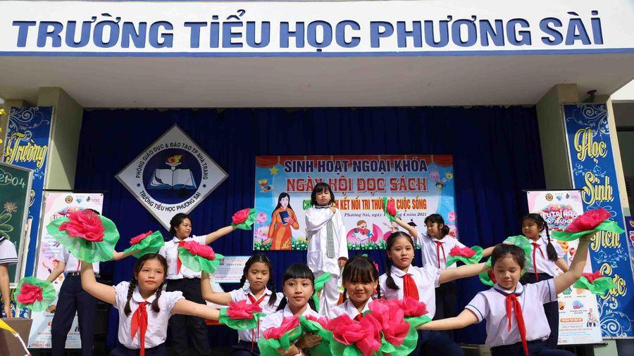 Ngày hội đọc sách tại Trường Tiểu học Phương Sài