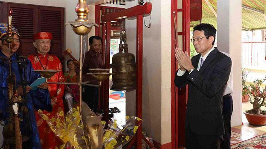 Kỷ niệm 733 năm ngày chiến thắng Bạch Đằng Giang