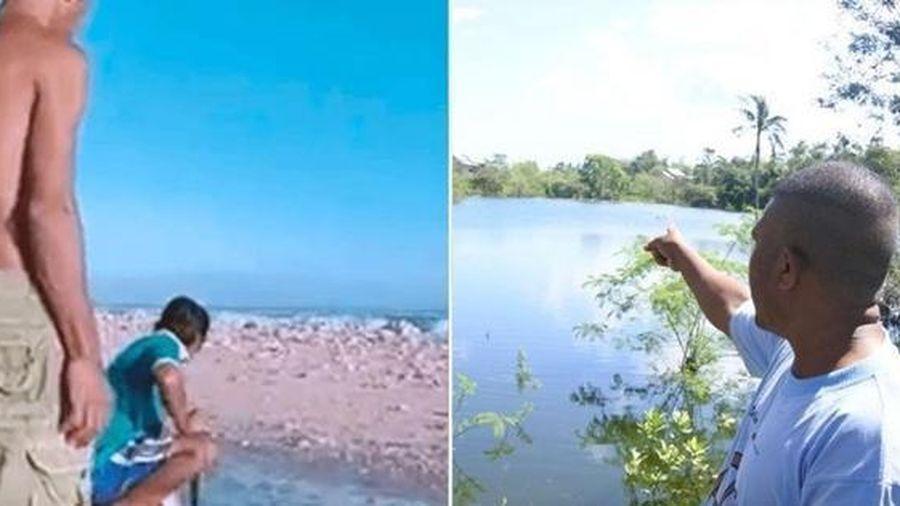 Một hòn đảo bí ẩn xuất hiện ở Indonesia sau khi bão vừa tan, và còn một hiện tượng lạ nữa