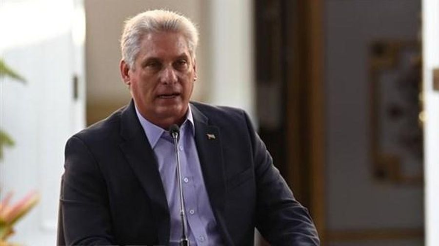 Ông M.Diaz-Canel được bầu làm Bí thư thứ nhất Đảng Cộng sản Cuba