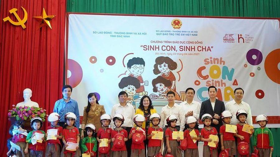Chương trình giáo dục cộng đồng 'Sinh con-Sinh cha' ở Bắc Ninh