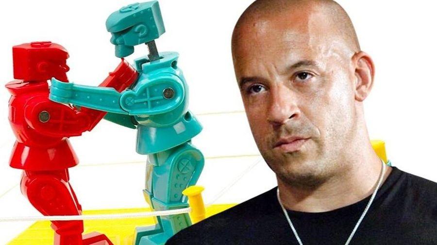Vin Diesel đóng phim chuyển thể từ game robot chiến đấu
