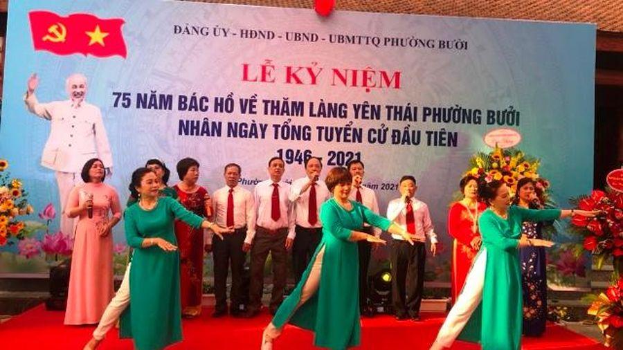Yên Thái kỷ niệm 75 năm ngày Bác Hồ về thăm