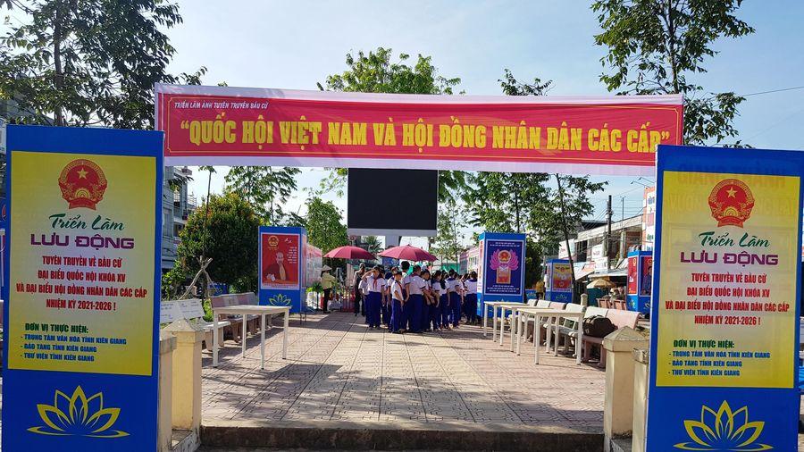 Kiên Giang ra quân tuyên truyền lưu động về bầu cử