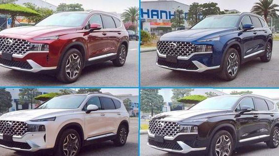 Hyundai Santa Fe mới lộ diện tại Việt Nam