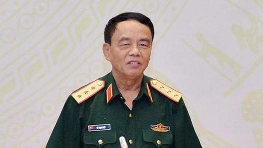Thượng tướng Võ Trọng Việt rút khỏi danh sách ứng cử vì lý do sức khỏe