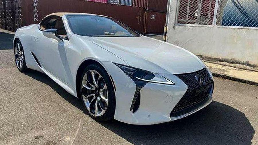 Lexus LC 500 mui trần về Việt Nam, giá hơn 10 tỷ đồng