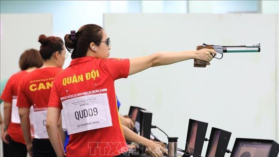 17 kỷ lục được phá tại Giải vô địch Bắn súng trẻ quốc gia 2021