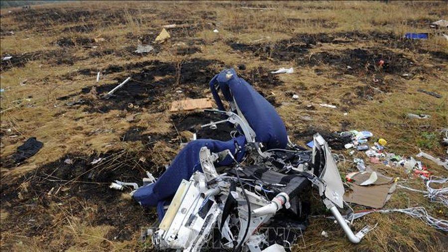 Tòa án Hà Lan dự kiến chưa đưa ra phán quyết vụ rơi máy bay MH17