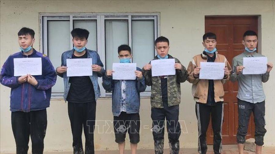 Bộ đội biên phòng Cao Bằng ngăn chặn 41 người nhập cảnh trái phép