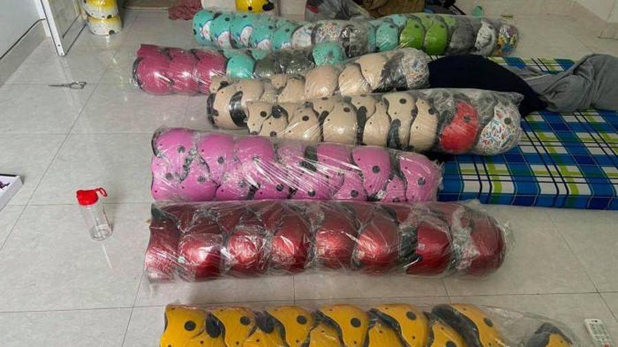 Công an TP.HCM vừa khởi tố vụ án sản xuất buôn bán nón Sơn giả 'khủng' ở Sài Gòn