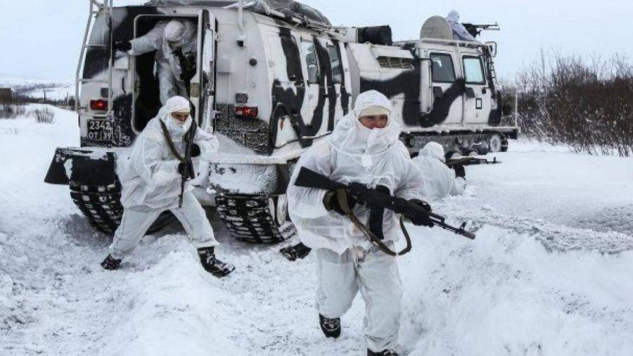 Hạm đội Phương Bắc của Nga bắt đầu cuộc tập trận quy mô lớn