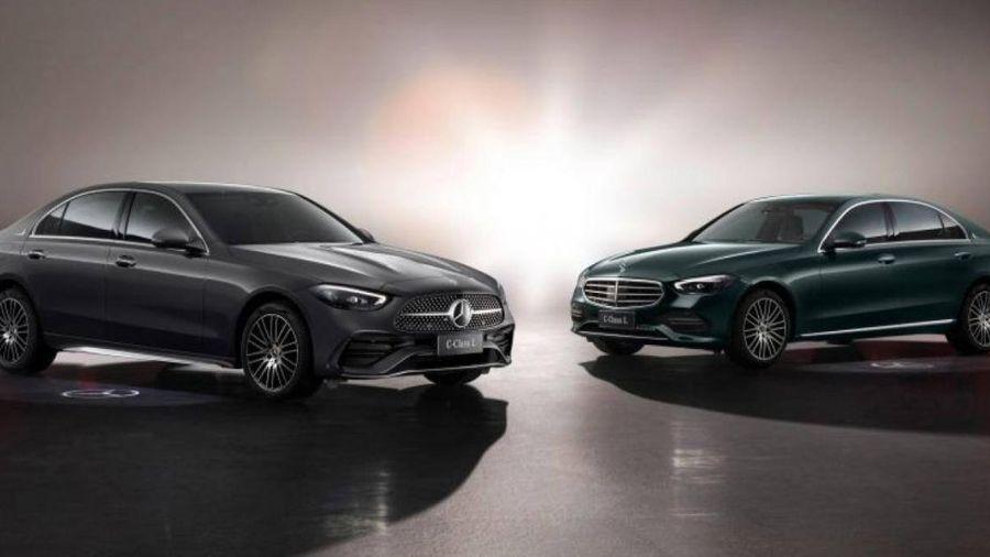 Mercedes-Benz C-Class sản xuất tại Trung Quốc có thiết kế kéo dài
