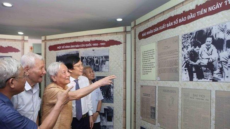 Trưng bày chuyên đề và tọa đàm 'Báo chí Việt Nam 1946-1954: Từ Thủ đô Hà Nội đến chiến khu Việt Bắc'