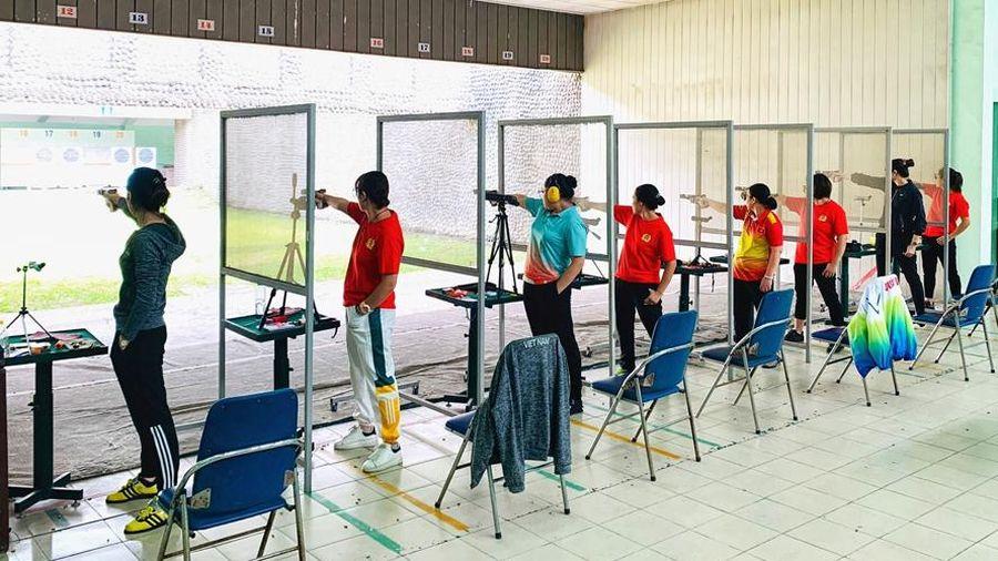 Đoàn Quân đội phá 9 kỷ lục bắn súng trẻ quốc gia