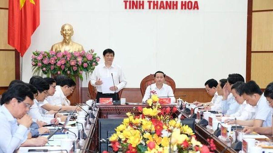 Bộ trưởng Bộ Y tế: Thanh Hóa cần tạo công bằng trong tiếp cận dịch vụ y tế cho 3,6 triệu dân