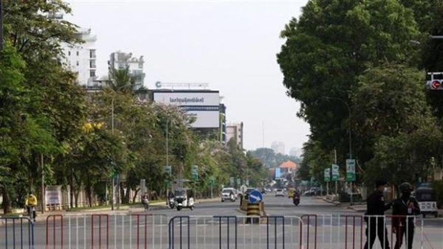 Phnom Penh thiết lập các 'vùng đỏ'