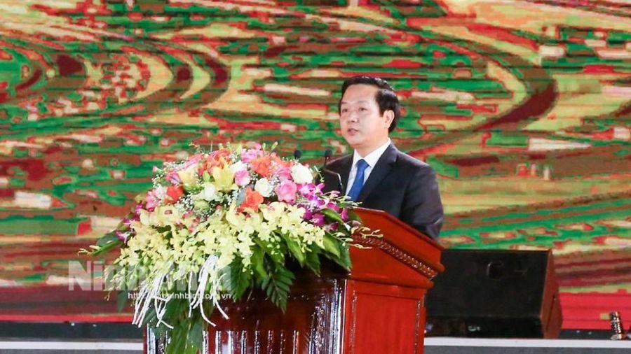 Khai mạc Năm Du lịch Quốc gia- Ninh Bình 2021 'Hoa Lư- Cố đô ngàn năm'