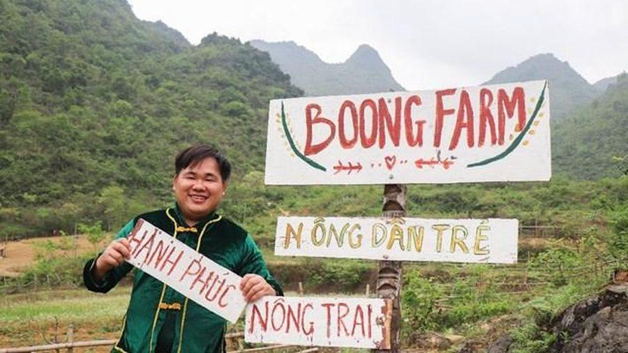 Chàng trai Tày biến quả đồi hoang thành nông trại du lịch