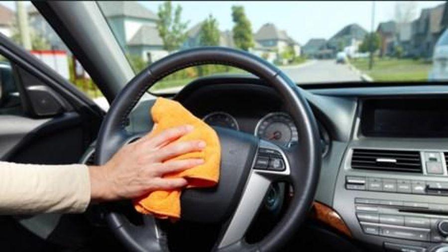 Mẹo khử mùi xe ô tô đơn giản, hiệu quả