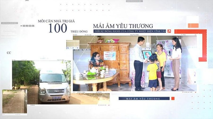 Mái ấm yêu thương - Ấm lòng người nghèo Bình Thuận