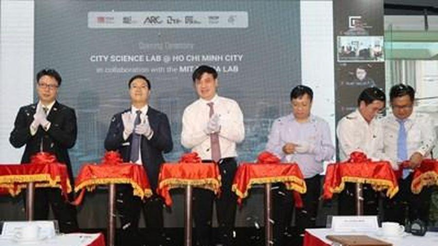 Khánh thành Phòng nghiên cứu khoa học đô thị TP Hồ Chí Minh