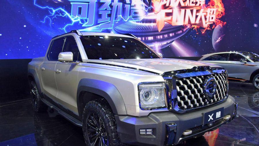 Hãng xe Trung Quốc ra mắt bán tải cỡ lớn dùng động cơ hybrid