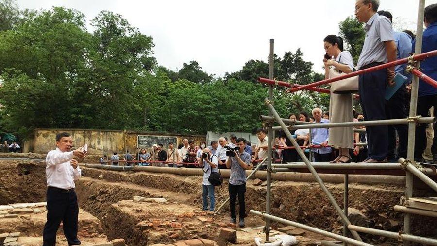 Thêm nhiều phát hiện khảo cổ quan trọng tại Hoàng thành Thăng Long