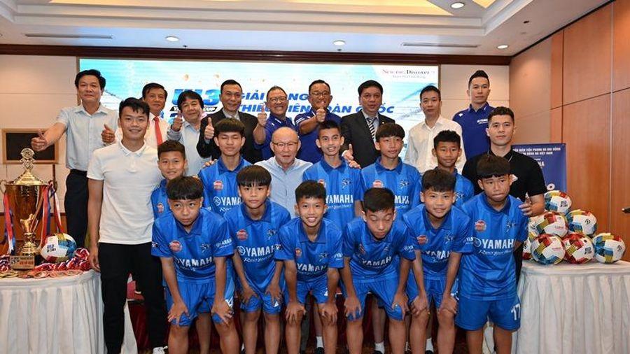 40 đội tham gia Giải Bóng đá Thiếu niên toàn quốc Yamaha cup 2021