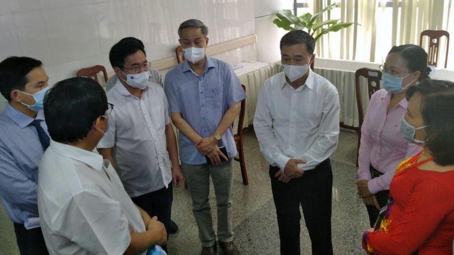 Bộ Y tế kiểm tra công tác phòng, chống dịch Covid-19 tại Sóc Trăng