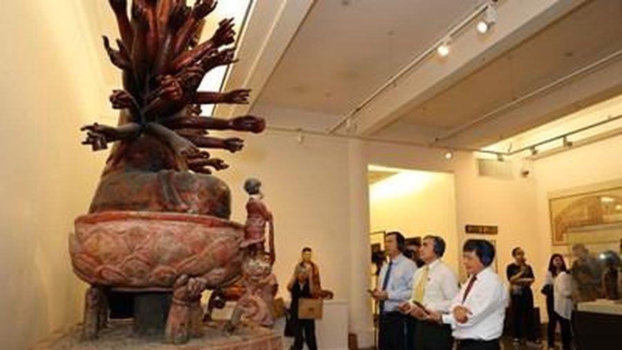 Khám phá các tác phẩm tiêu biểu của Bảo tàng Mỹ thuật Việt Nam bằng ứng dụng thuyết minh tự động