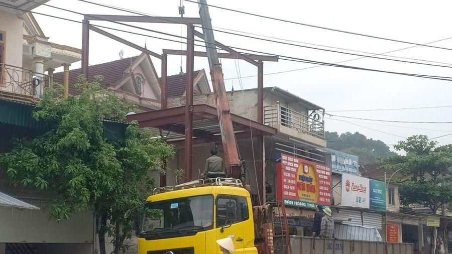 Hà Tĩnh: Cấp đất hành lang giao thông cho hộ dân làm đất ở