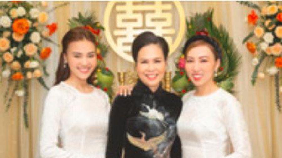 Full bộ ảnh Lan Ngọc 'đẹp xỉu' trong đám cưới em trai