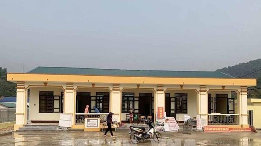 Lai Châu khánh thành và bàn giao công trình trường tiểu học bản Nà Phầy