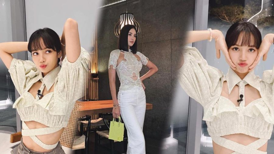 Hoa hậu Tiểu Vy diện áo cut out bắt trend với Lisa Black Pink