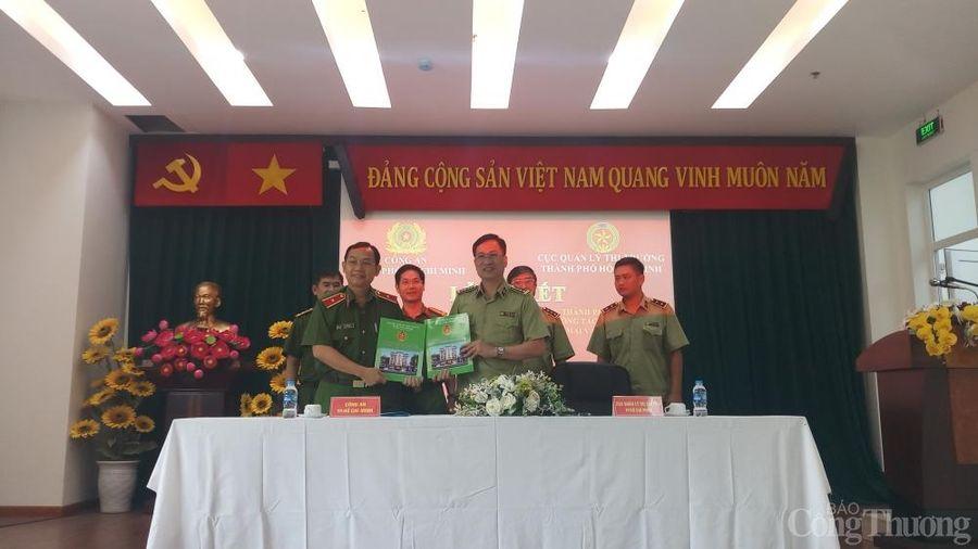 Cục QLTT và Công an TP. Hồ Chí Minh ký kết hợp tác chống buôn lậu