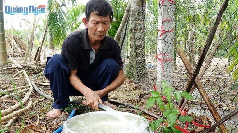 3/4 mẫu nước giếng ở thôn Phước Hòa bị ô nhiễm chất hữu cơ và vi sinh
