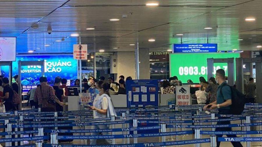 Cục Hàng không chấp thuận cho sân bay Tân Sơn Nhất lắp thêm 5 máy soi an ninh