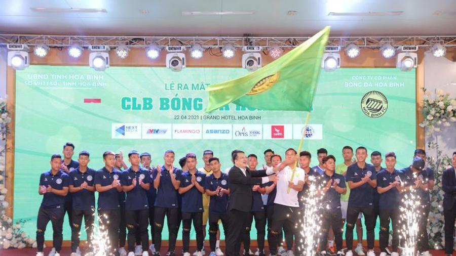 Ra mắt Câu lạc bộ bóng đá Hòa Bình