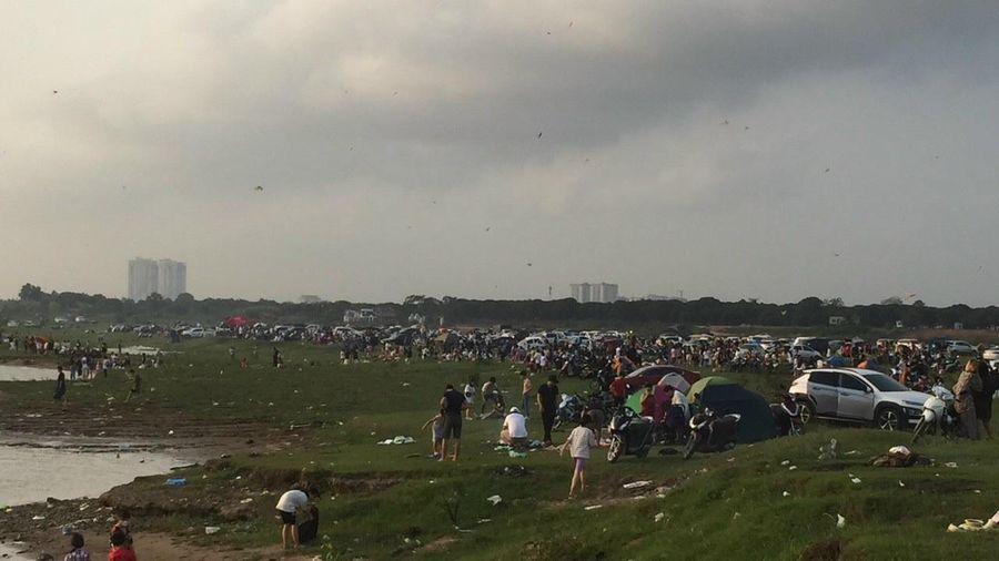 Tại phường Long Biên, Hà Nội: Ngồn ngộn nguy cơ ô nhiễm môi trường, mất an toàn tại bãi giữa sông Hồng