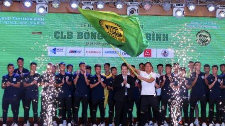Hòa Bình FC ra mắt giải hạng Nhì quốc gia