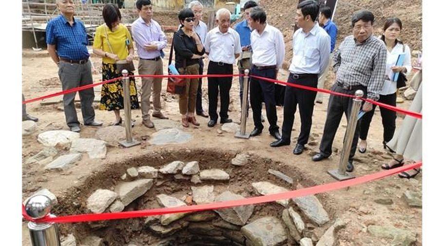 Nhiều phát hiện khảo cổ tại khu vực chính điện Kính Thiên