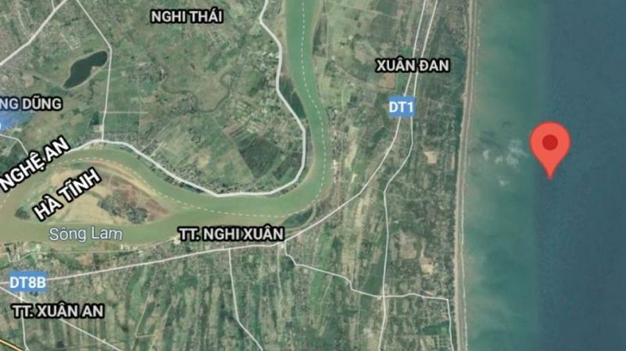 Động đất 3.0 độ richter trên biển Hà Tĩnh