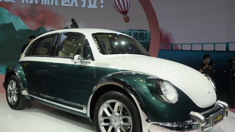 Mẫu ôtô điện Trung Quốc giống 'con bọ' Volkswagen Beetle