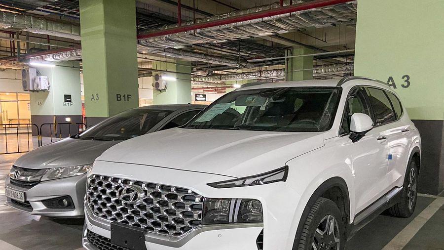 Hyundai Santa Fe 2021 đã được đăng kiểm tại Việt Nam