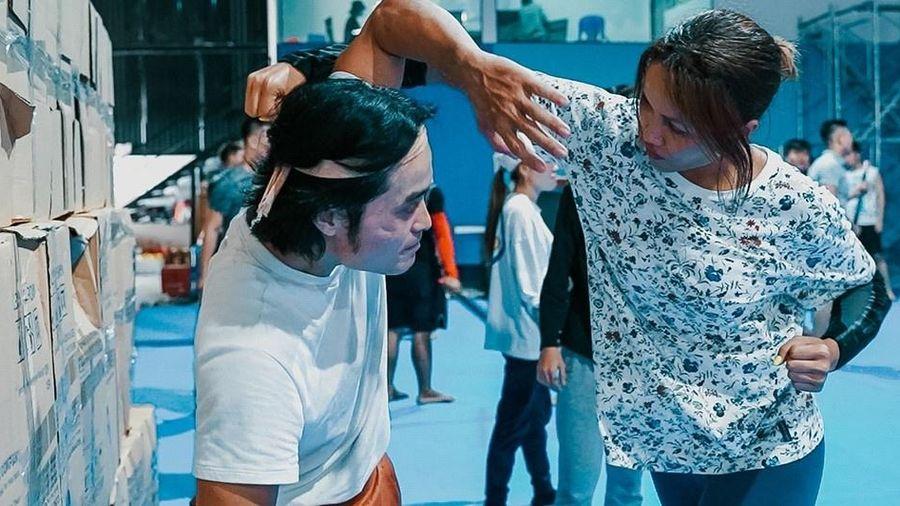 H'Hen Niê bị thương khi đóng phim