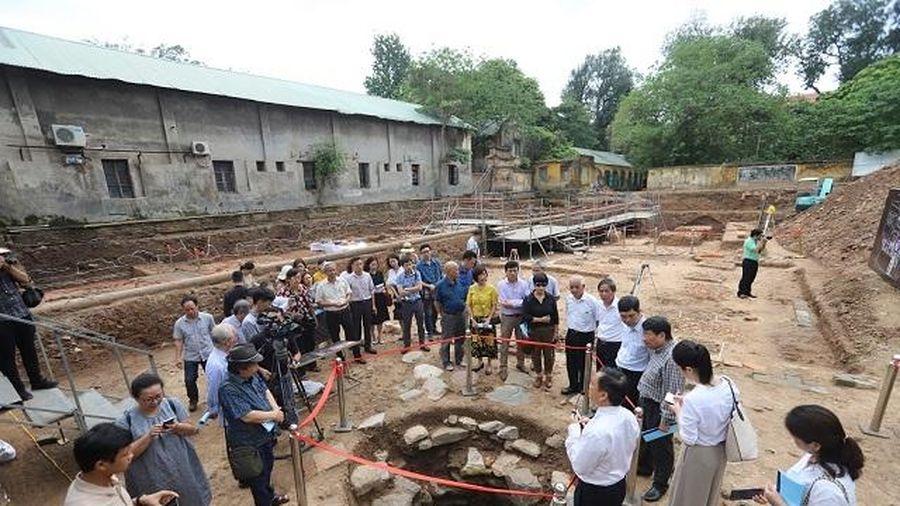 Xác định lại mục tiêu khai quật Hoàng thành Thăng Long