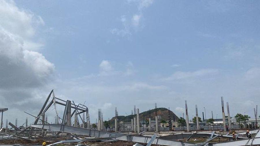 Quảng Ninh: Nguyên nhân vụ sập 15.000m2 nhà xưởng
