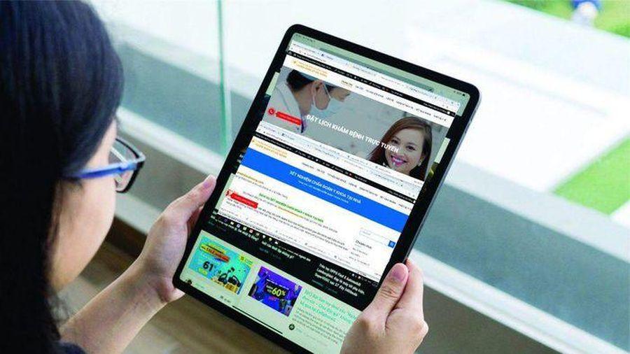 Bộ Y tế sắp thí điểm 'Đặt lịch khám, chữa bệnh trực tuyến'